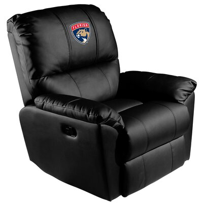 Manual Rocker Recliner NHL Team: Florida Panthers