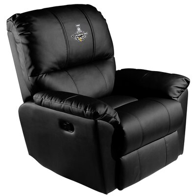 Manual Rocker Recliner NHL Team: Pittsburgh Penguins - 2016 Champs