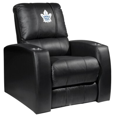 Relax Manual Recliner NHL Team: Toronto Maple Leafs