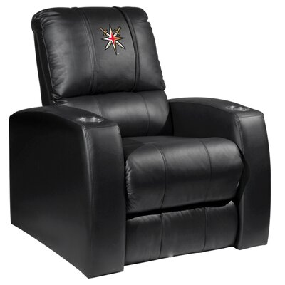 HT Leather Manual Recliner NHL Team: Vegas Golden Knights - Secondary