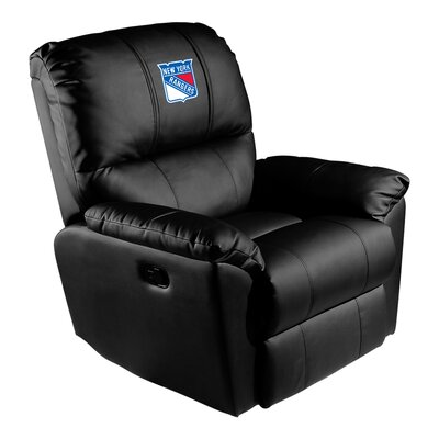 Manual Rocker Recliner NHL Team: New York Rangers