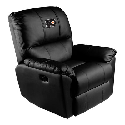 Manual Rocker Recliner NHL Team: Philadelphia Flyers