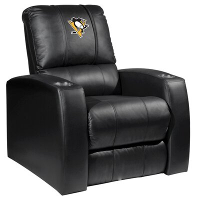 Relax Manual Recliner NHL Team: Pittsburgh Penguins