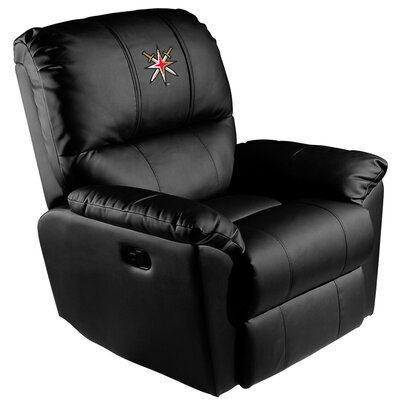 Manual Rocker Recliner NHL Team: Vegas Golden Knights - Secondary