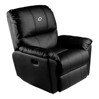 Manual Rocker Recliner NHL Team: Dallas Stars