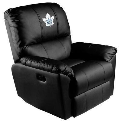 Manual Rocker Recliner NHL Team: Toronto Maple Leafs