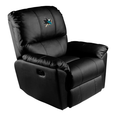 Manual Rocker Recliner NHL Team: San Jose Sharks