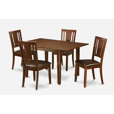 Milan 5 Piece Dining Set