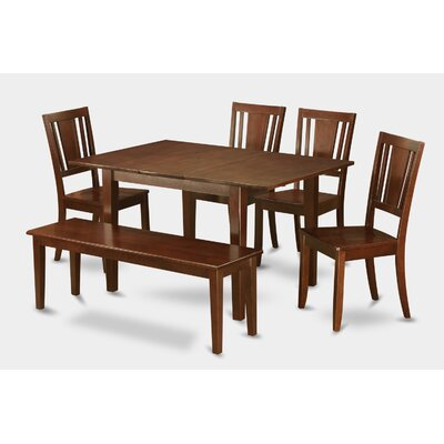 Milan 6 Piece Dining Set
