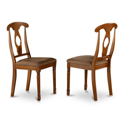 Napoleon Side Chair (Set of 2) Upholstery: Yes
