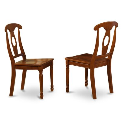 Napoleon Side Chair (Set of 2) Upholstery: No