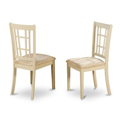 Nicoli Side Chair (Set of 2) Finish: Buttermilk