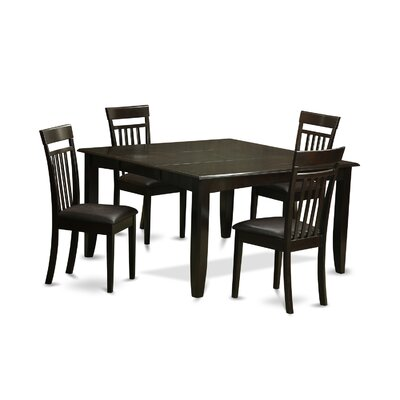 Pilning 5 Piece Wood Dinning Set