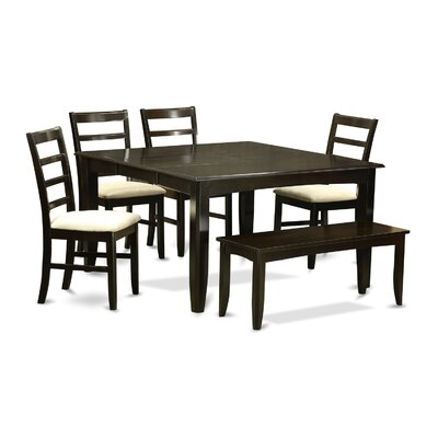 Parfait 6 Piece Dinning Set