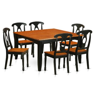 Pilning Modern 7 Piece Dining Set