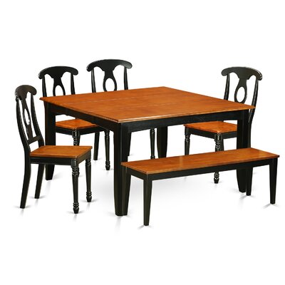 Pilning Modern 6 Piece Dining Set