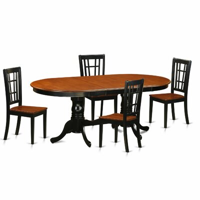 Pilcher Contemporary 5 Piece Dining Set
