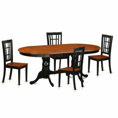Plainville 5 Piece Dining Set