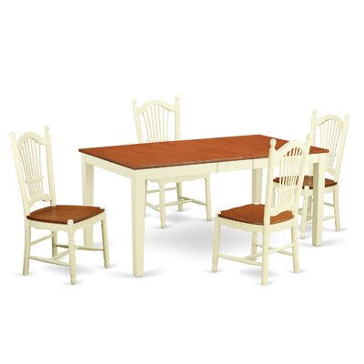 Pillar Modern 5 Piece Dining Set