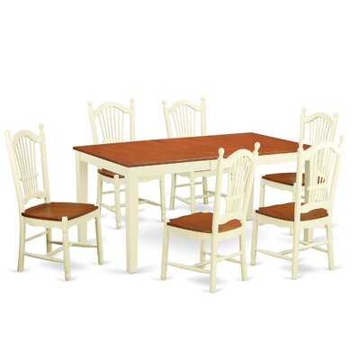 Pillar 7 Piece Dining Set