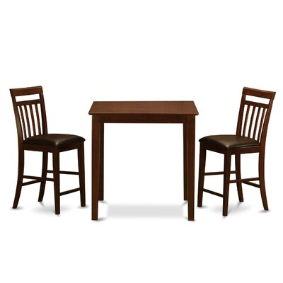 Vernon 3 Piece Counter Height Pub Table Set