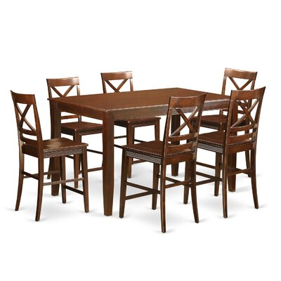 Dudley 7 Piece Counter Height Pub Table Set