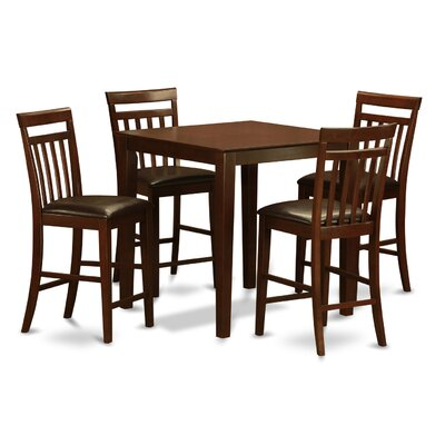 Vernon 5 Piece Counter Height Pub Table Set
