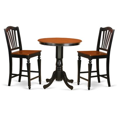 Jackson 3 Piece Counter Height Pub Table Set