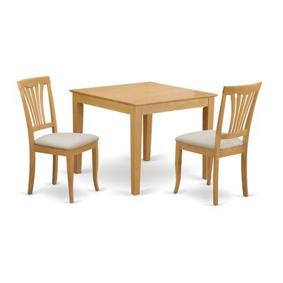 Oxford 3 Piece Dining Set
