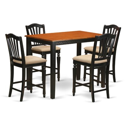 Yarmouth 5 Piece Counter Height Pub Table Set