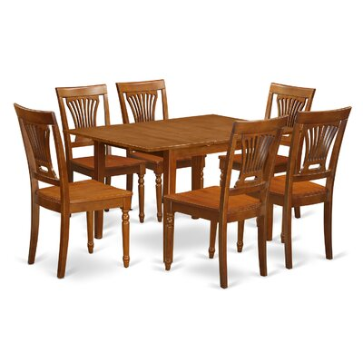 east west 7 piece kitchen nook dining set kitchen table 6 chairs for dining room