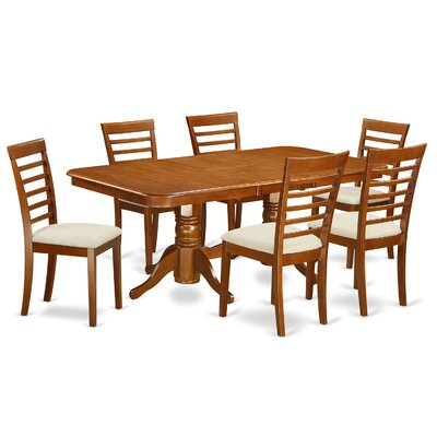Pillsbury Modern 7 Piece Dining Set