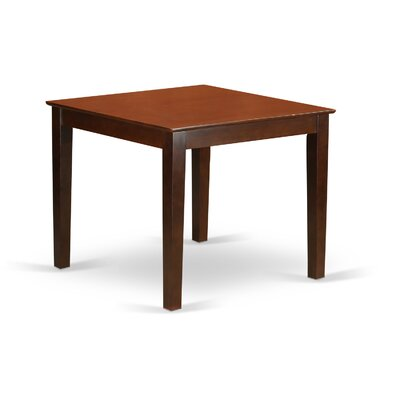 Oxford Dining Table Finish: Mahogany