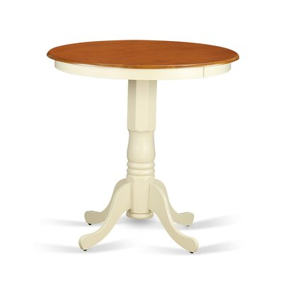Eden Counter Height Dining Table Finish: Buttermilk/Cherry