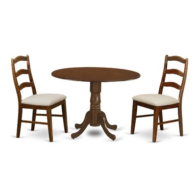 3pc dining room sets kenley 3 piece dining set 3pc dining room sets norfolk 3 piece dining set finish