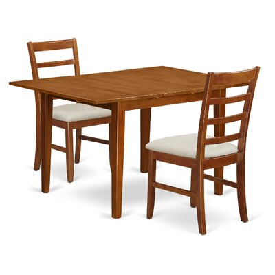 Milan 3 Piece Dining Set