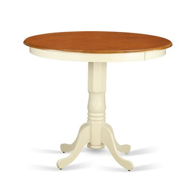 Jackson Counter Height Dining Table Finish: Buttermilk/Cherry