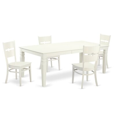 Beesley 5 Piece Rectangular Dining Set