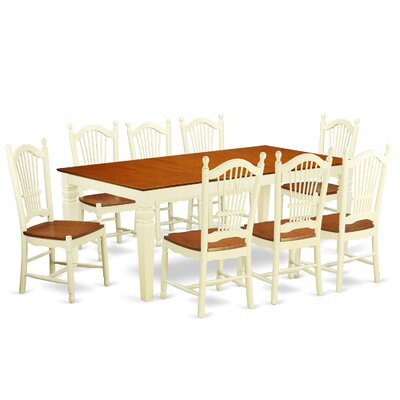 Beesley 9 Piece Contemporary Dining Set