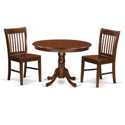 Hartland 3 Piece Dining Table Set