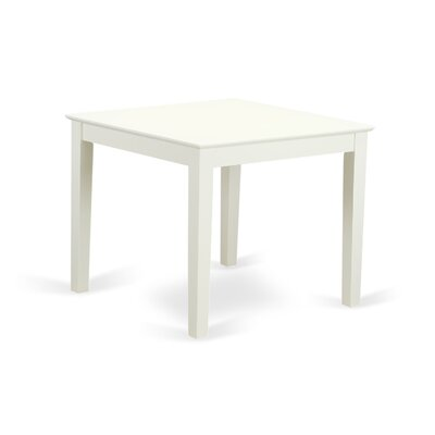 Oxford Dining Table Finish: Linen White
