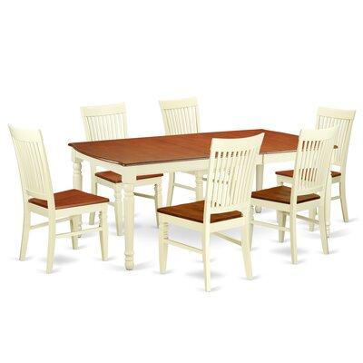 Pimentel 7 Piece Extendable Dining Set