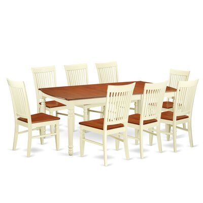 Pimentel 9 Piece Extendable Dining Set
