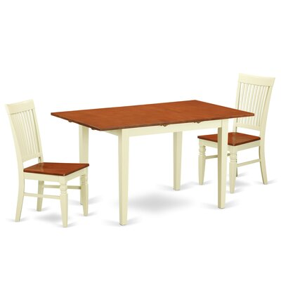 Holoman 5 Piece Extendable Breakfast Nook Dining Set