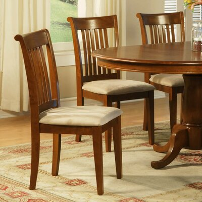 Portland Side Chair (Set of 2) Upholstery: Microfiber