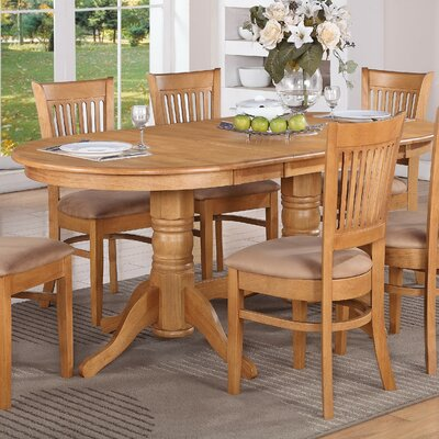 East West Vancouver Dining Table (7 Pieces) - Finish: Espresso, Upholstery: Wood at Sears.com