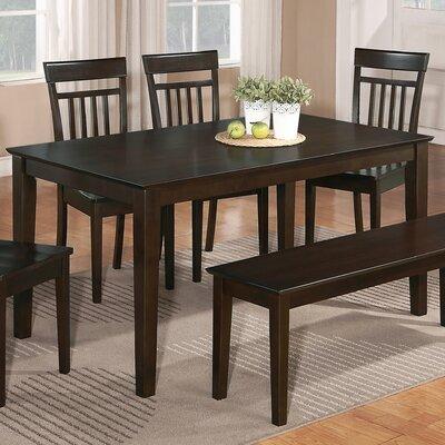 East West Capri Dining Table - Finish: Mahogany, Tabletop: Wood at Sears.com