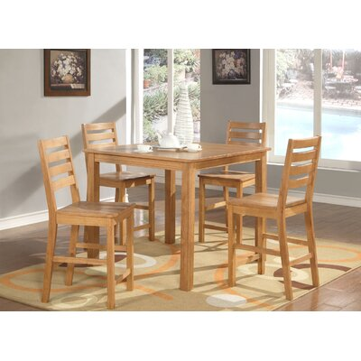 Caf? 5 Piece Counter Height Dining Set