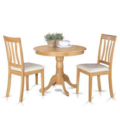 3pc dining room sets antique 3 piece dining set finish homelegancela inc homelegance archstone 3 piece 48 inch