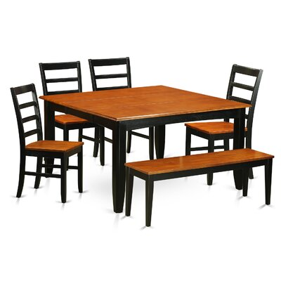 Parfait 6 Piece Dining Set